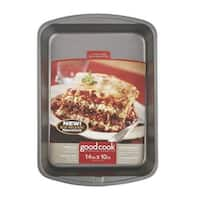 "Good Cook 04011 Non-stick Lasagna Pans, 14"" X 10"""