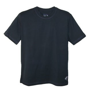 Robert Graham Men's Micro Cotton Crew Neck Tee Shirt