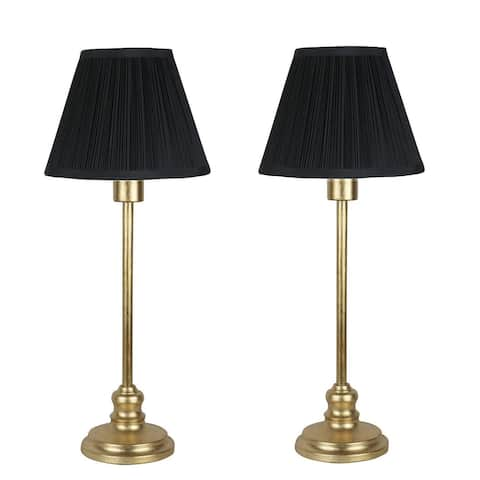 Set of 2 Modello Buffet Lamps, 22.5 inch Tall