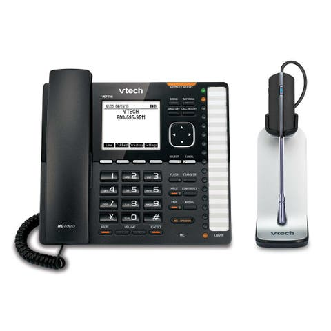 Vtech VSP736 plus one VH621 SIP Phone with Wireless Headset