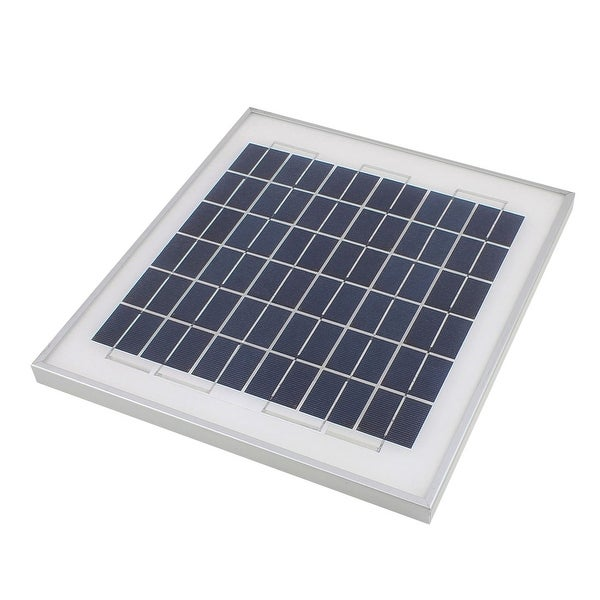 18V 10W DIY Polycrystallinesilicon Solar Panel Power Battery Charge 330x300x20mm