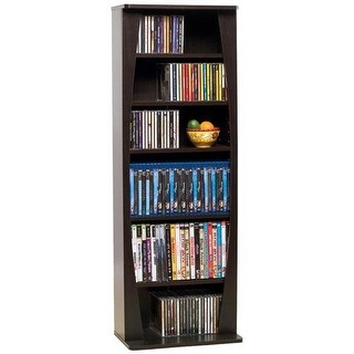 Canoe 231CD or 115 DVD Blu-Ray or Games Wood Cabinet In Espresso