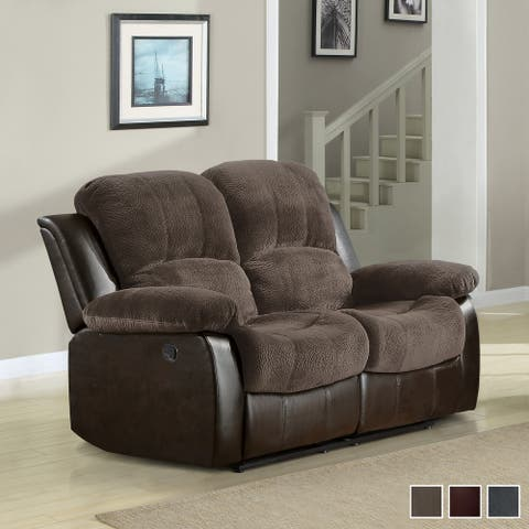 Lucca Double Reclining Loveseat