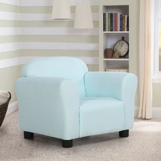 Costway Green Kids Sofa Armrest Chair Children Toddler Comfortable Living Room Furniture