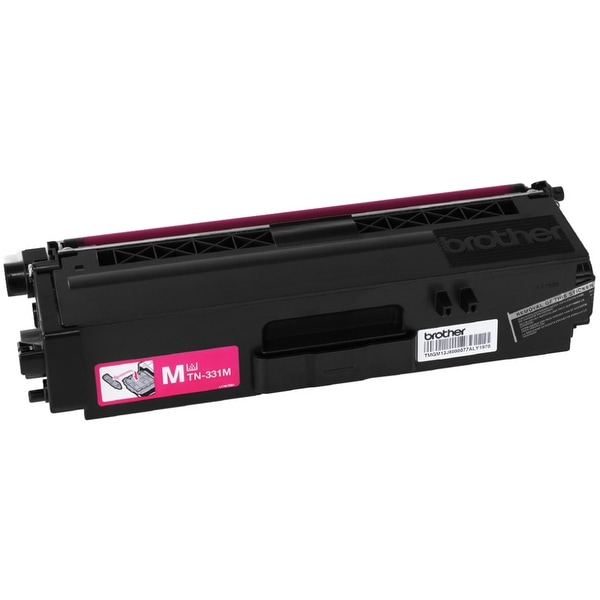 Brother TN331M Brother TN331M Toner Cartridge - Magenta - Laser - 1500 Page - 1 Each