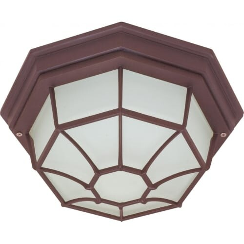 Nuvo Lighting 60/535 1 Light Flush Mount Outdoor Ceiling Fixture - 11.375 Inches Wide