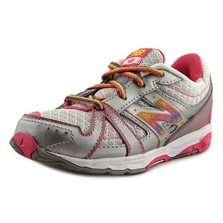 New Balance KJ689 Round Toe Synthetic Running Shoe