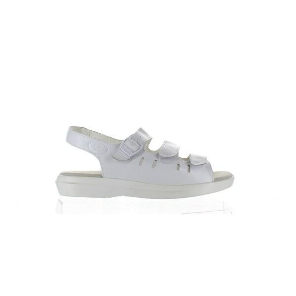 Propet Womens Breeze Walker White Sandals Size 8.5. Opens flyout.