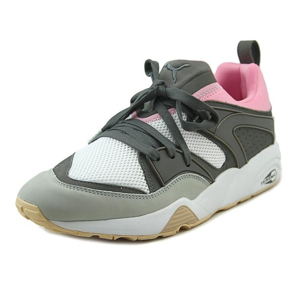 Puma Blaze Of Glory Solebox Men Round Toe Synthetic Gray Tennis Shoe