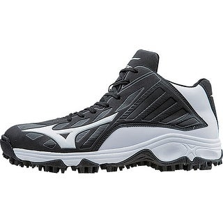 Mizuno Men's 9-Spike Advanced Erupt 3 Mid Molded Cleat