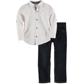Calvin Klein Kids Boys Woven Pant Set (More options available)