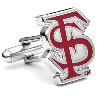 Silver Plated Florida State Seminoles Cufflinks