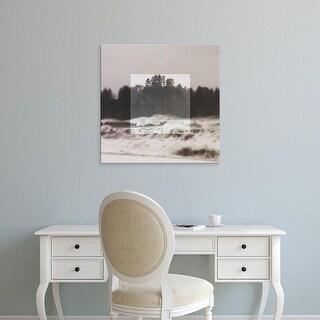Easy Art Prints Laura Marshall's 'Framed Landscape III' Premium Canvas Art