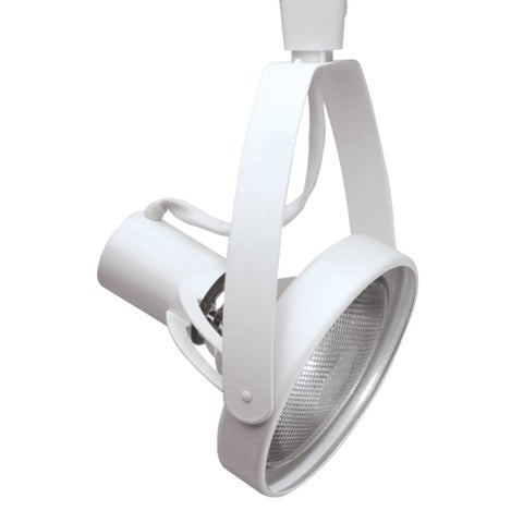 """Halo LZR1338 11"""" Tall Front Loading Gimbal Track Head for Halo and Lazer-by-Halo - Satin White - N/A"""