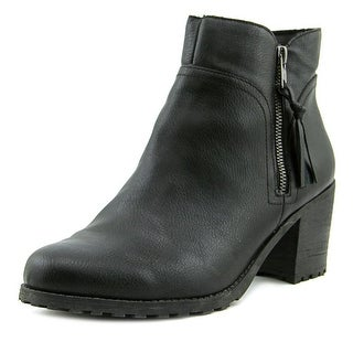 Aerosoles Convincing Women  Round Toe Synthetic Black Ankle Boot