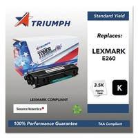 Triumph Remanufactured E260 Toner Cartridge - Black Toner Cartridge