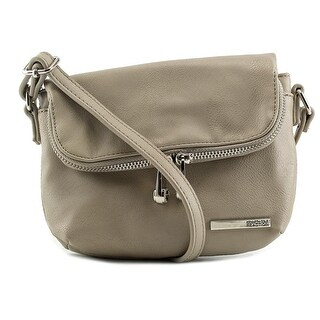 Kenneth Cole Reaction Wooster Street Foldover Flap Mini Bag - ivory