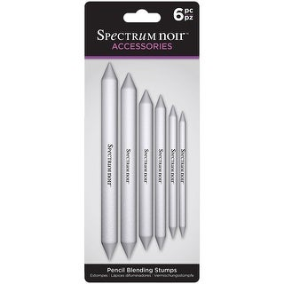 Spectrum Noir Pencil Blending Stumps 6/Pkg-
