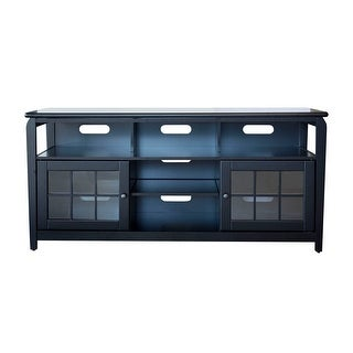 """Offex 60""""W TV Stand with Storage Compartments - Black"""