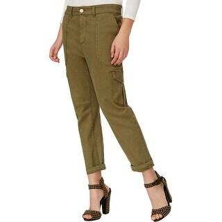 Rachel Rachel Roy Womens Cargo Pants Stretch Lined