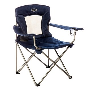 Kamp-Rite Padded Chair with Mesh Back - CC035
