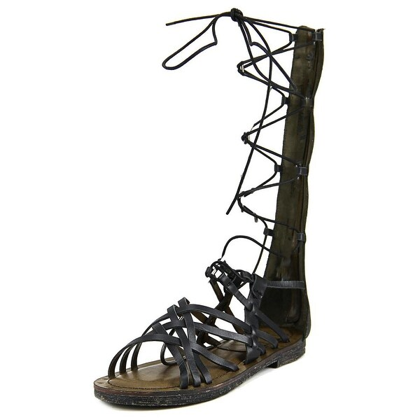 Mia Heritage Lenora Open Toe Leather Gladiator Sandal