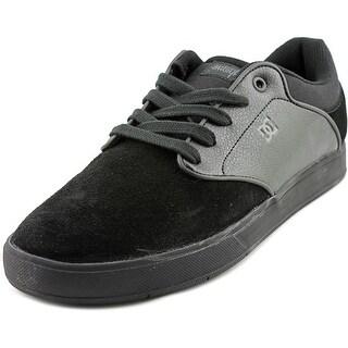 DC Shoes Mikey Taylor Men Round Toe Suede Black Skate Shoe