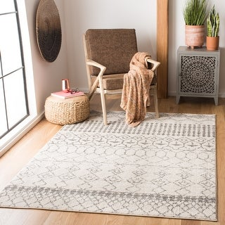 Link to Safavieh Tulum Giorgina Moroccan Boho Rug Similar Items in Rugs