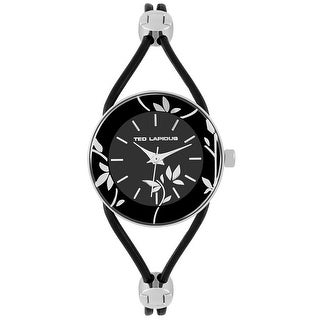 Ted Lapidus Women's Classic A0525RNIN Black Dial watch