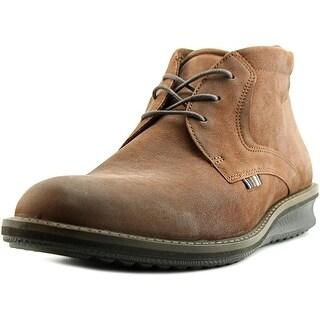 Ecco Contoured Round Toe Leather Oxford