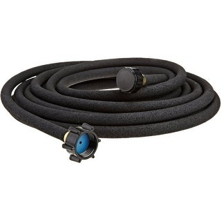 "Swan ELSP38025 Element SoakerPro Soaker Hose, 3/8"" x 25', Black"