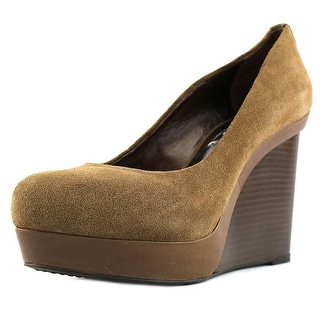 BCBG Max Azria Mason Women  Open Toe Suede  Wedge Heel