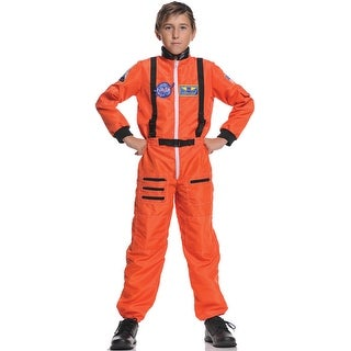 Underwraps Astronaut Explorer Child Costume (Orange) - Solid