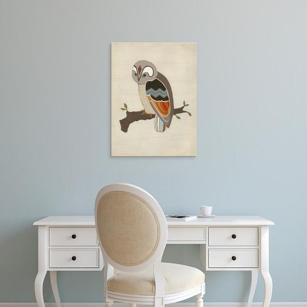 Easy Art Prints June Erica Vess's 'Chevron Owl II' Premium Canvas Art