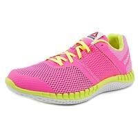 Reebok Zprint Run Youth  Round Toe Synthetic Pink Running Shoe