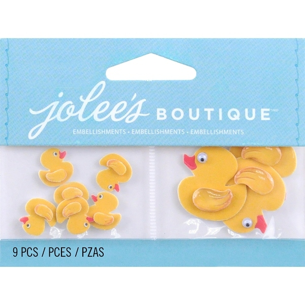 Jolee's Dimensional Embellishments-Mini Rubber Duckies