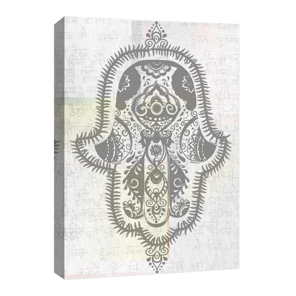 "PTM Images 9-126773 PTM Canvas Collection 8"" x 10"" - ""Meaning"" Giclee Hamsa Art Print on Canvas"