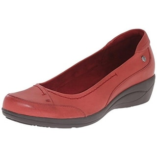 Hush Puppies Womens Kellin Oleena Leather Colorblock Loafers - 7.5 narrow (aa,n)