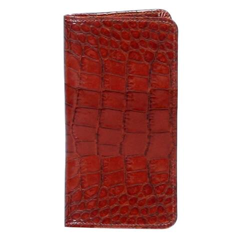 Scully Western Address Book Print Leather Telephone Number - One Size