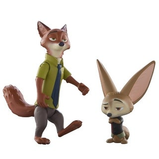 Disney Zootopia Character 2-Pack Nick & Finnick Figures - multi