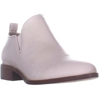 Pour La Victorie Felinaml Pointed Toe Ankle Boots, Vanilla - 7.5 US