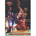 Otis Thorpe Houston Rockets 1993 Fleer Ultra Autographed Card This item comes with a certificate of authenticity from