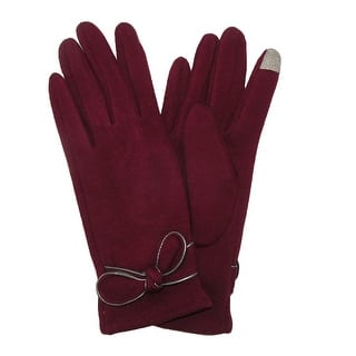 David & Young Women's Jersey Knit Winter Texting Glove with Bow|https://ak1.ostkcdn.com/images/products/is/images/direct/022431cd97690d9412ef65f3e80098811fcd3218/David-%26-Young-Women%27s-Jersey-Knit-Winter-Texting-Glove-with-Bow.jpg?impolicy=medium