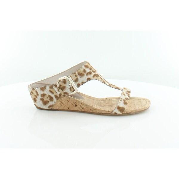 Donald J Pliner Doli Women's Sandals & Flip Flops Sand Summer Leopoard - 10