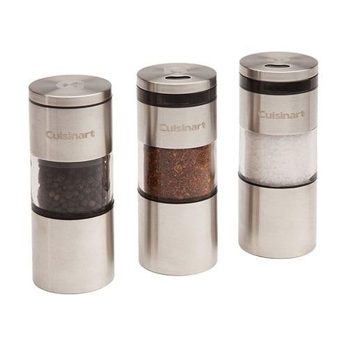 Cuisinart 3-Piece Magnetic Grilling Spice Set 3-Piece Magnetic Grilling Spice Set