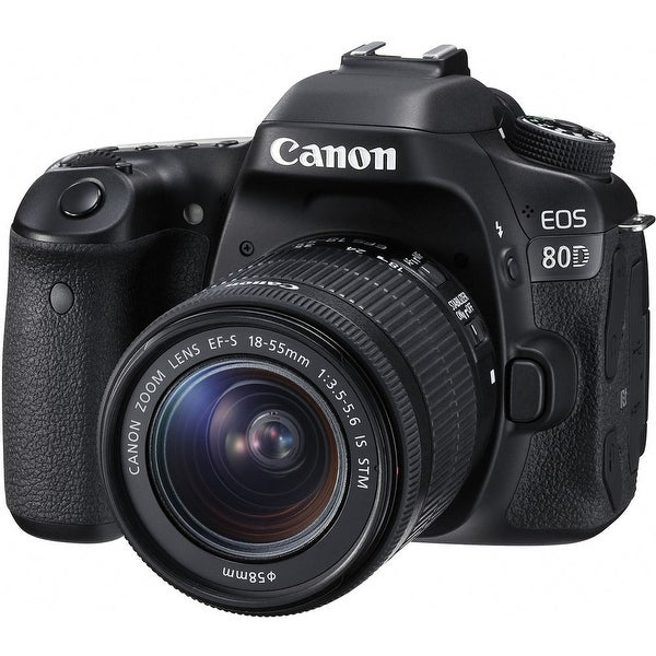 Canon EOS 80D DSLR Camera with 18-55mm Lens (International Model)