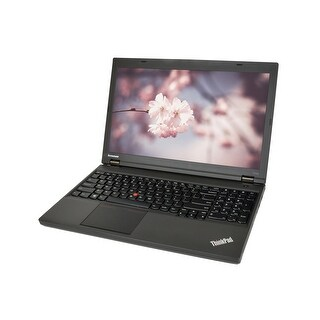 "Lenovo ThinkPad T540P Core i7-4700MQ 2.4GHz 16GB RAM 500GB SSD DVD-RW Win 10 Pro 15.6"" Laptop (Refurbished)"