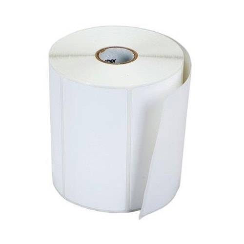 Brother Mobile Solutions - Adhesve Papr Rolls Label, 4X2 In,12Pk