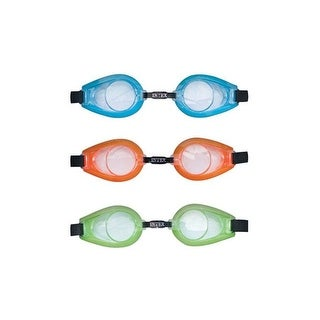 Intex 55602E Swimming Play Goggles, Assorted Color