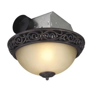 Craftmade TFV70L-A 70 CFM Ventilation Fan / Light Combination from the Ventilation Collection - Oil Rubbed Bronze
